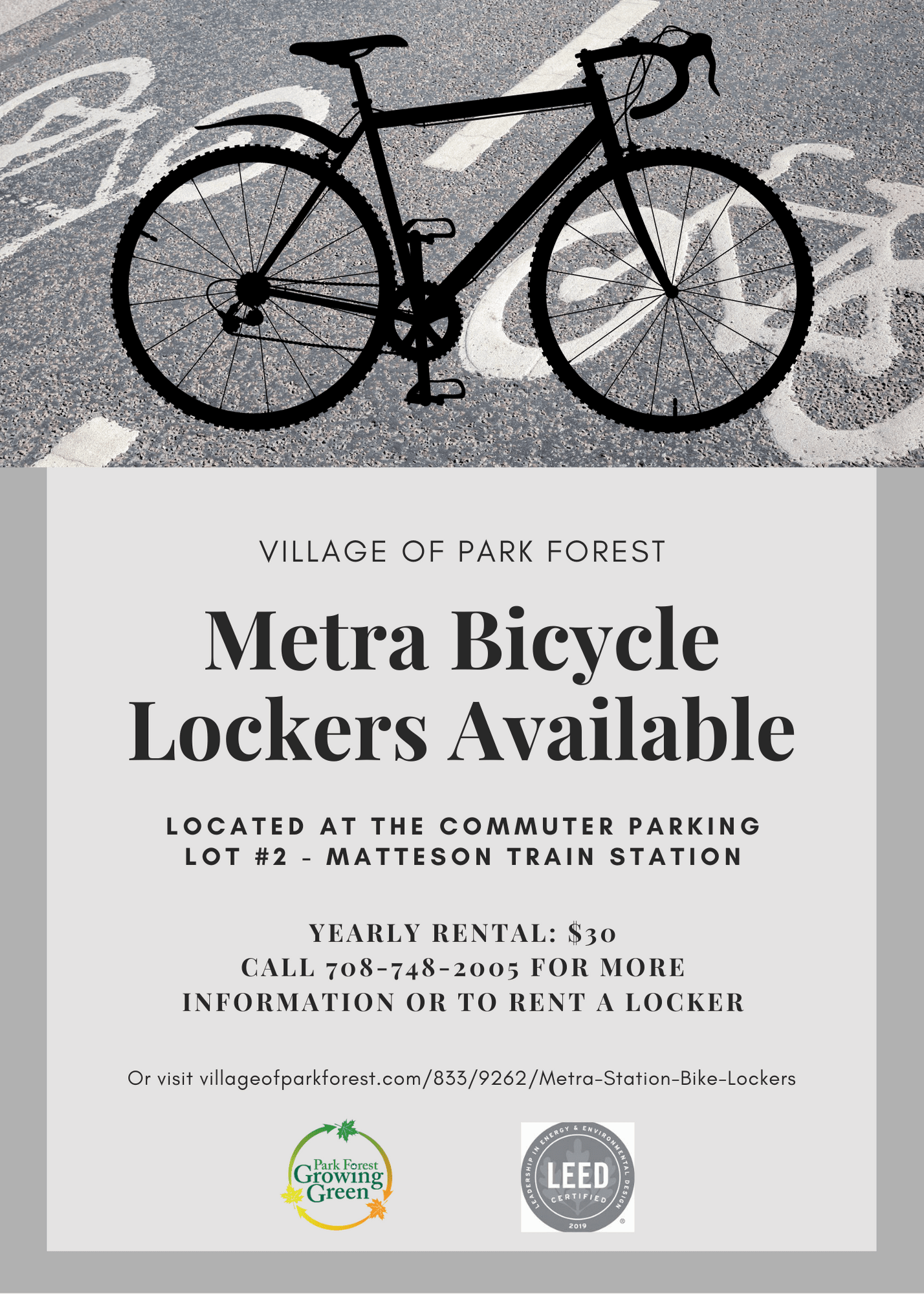 Bike Locker Flyer