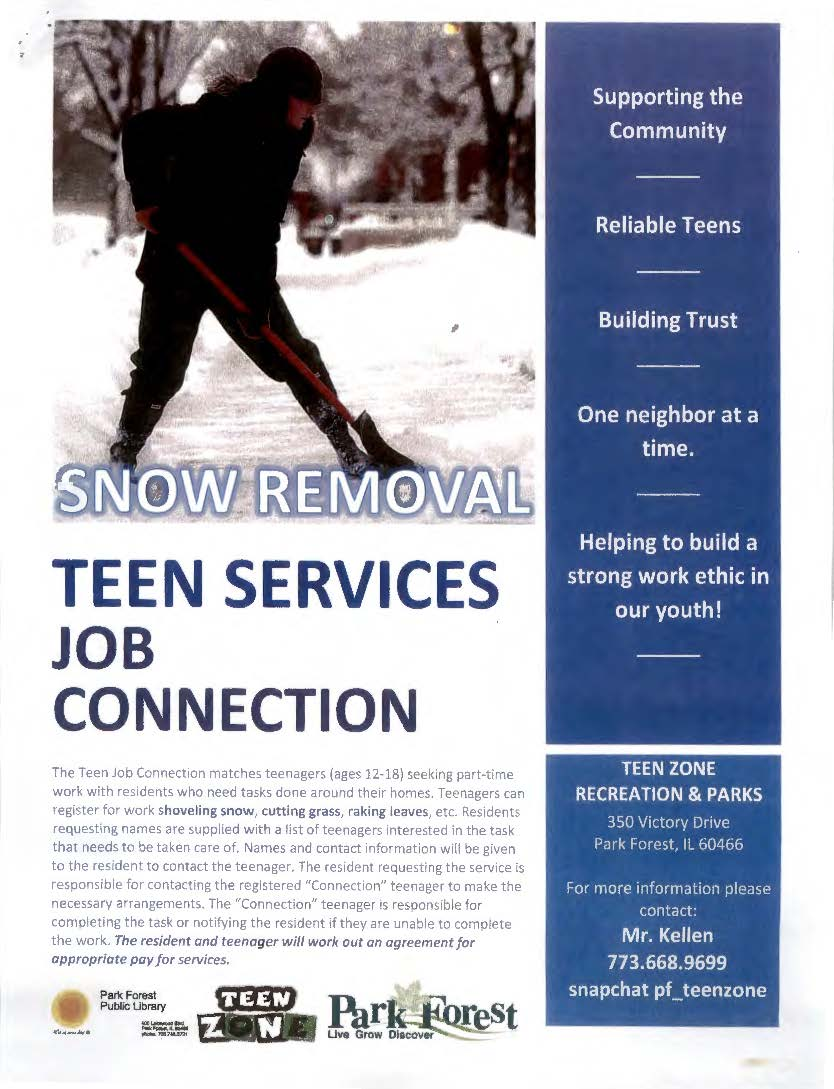 2021 Teen Services Job Connection Flyer_Page_1